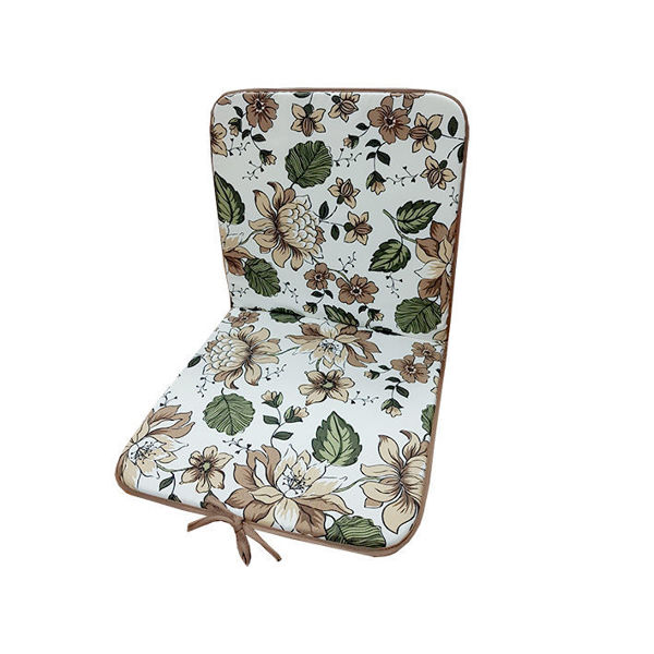 Снимка на Столовка тефлоново покритие 40х80 №4 кафеви цветя