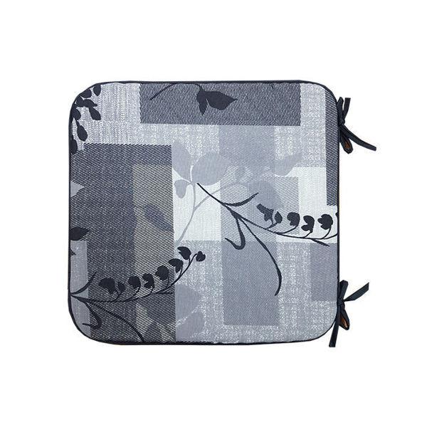 Снимка на Столовка тефлоново покритие 40х40 №6 сиви квадрати