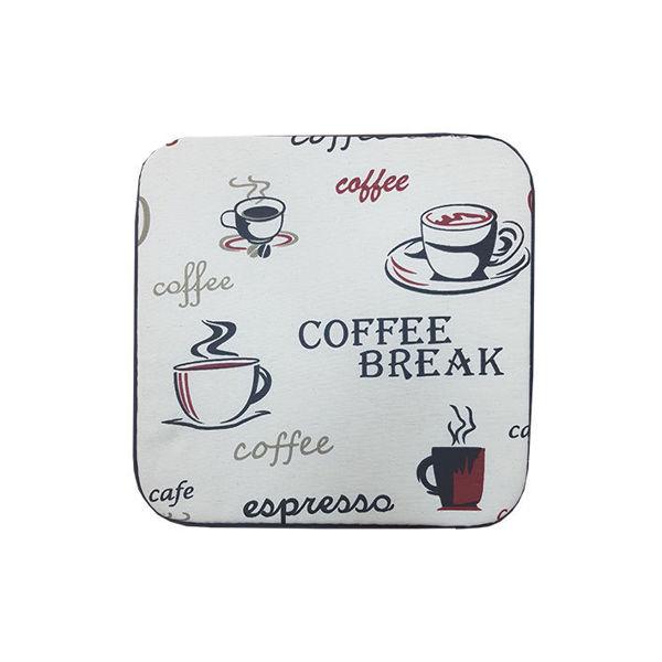 Снимка на Столовка тефлоново покритие 40х40 №5 червено кафе