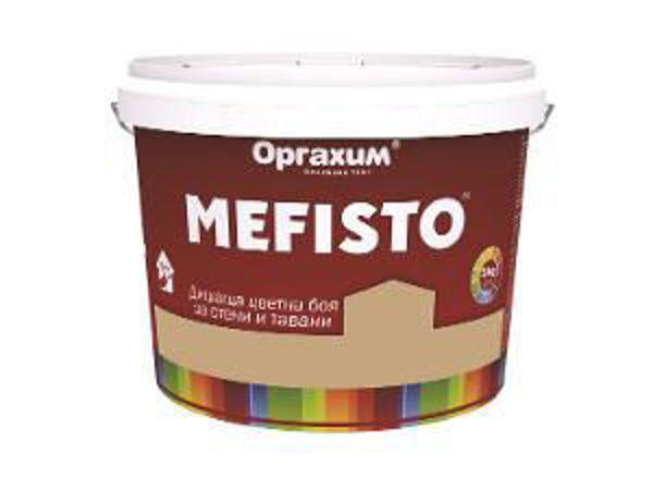 Снимка на Боя Мефисто за стени и тавани 5кг крема