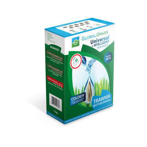 Снимка на Тревна смеска Универсална+Inteligent кутия 1кг GLOBOLGRASS