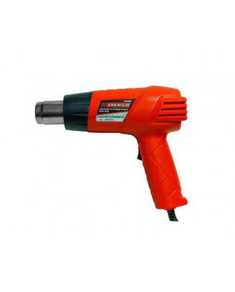 Снимка на Пистолет за горещ въздух 2000W 350C-550C PREMIUM