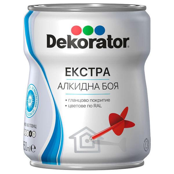 Снимка на Боя Екстра Алкидна Декоратор RAL 8001 Охра кафява 650 мл