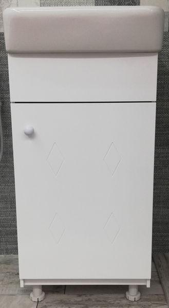 Снимка на Шкаф долен ХАНА с тяхна мивка 43 см  ПВЦ